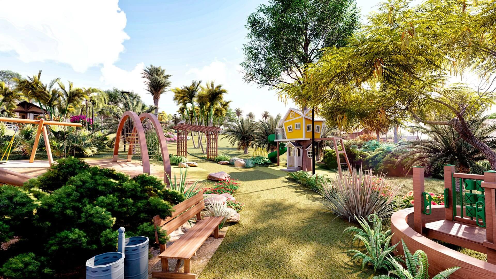 zonas recreativas para niños en Yanashpa Village, Tarapoto