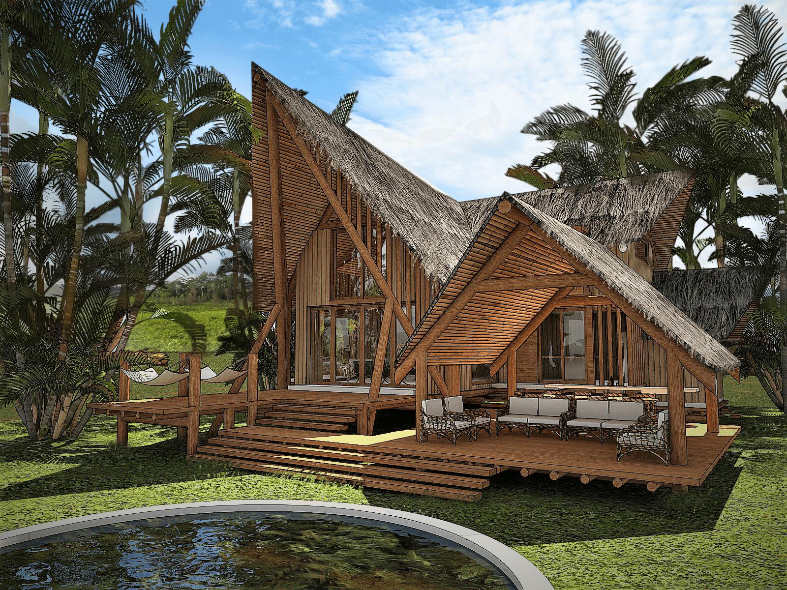 Casa modular en Yanashpa Village, Tarapoto