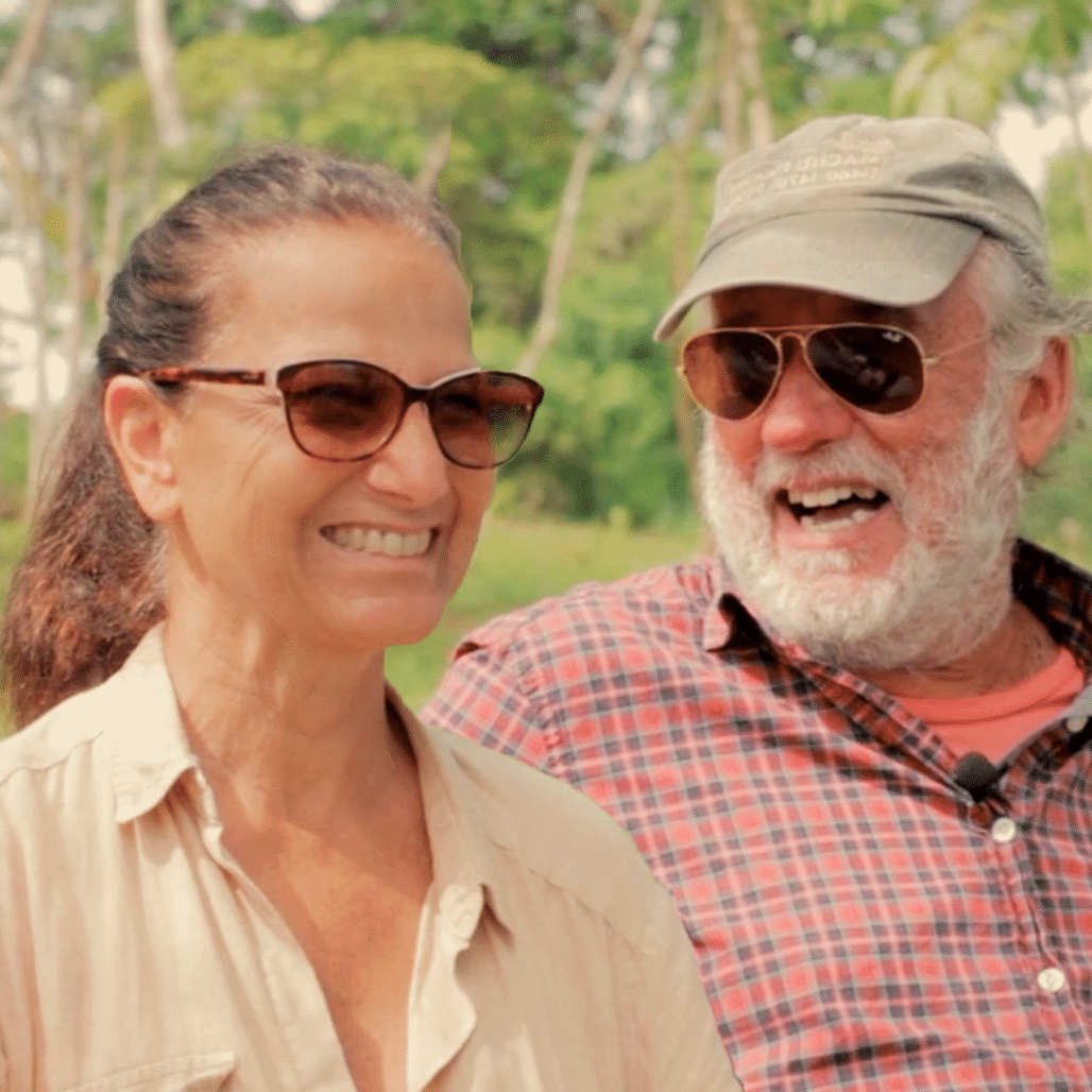 Testimonios del músico Manongo Mujica y su esposa Pauline Barberi propietarios del terreno 59 en Yanashpa Village, Tarapoto